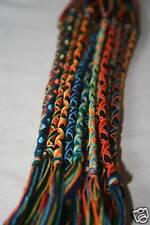 Lot de 20 Bracelets Bresiliens Multicouleur (15-16 cm)