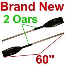 "NEW 2 ALUMINUM 60"" BOAT/CANOE/KAYAK/RAFT OARS/PADDLES,PADDLE/OAR"