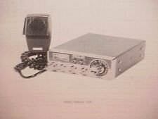 1977 PEARCE-SIMPSON CB RADIO SERVICE SHOP MANUAL MODEL BOBCAT 23E