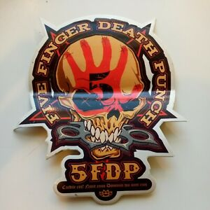 Five Finger Death Punch 2007 Promo Sticker Rare
