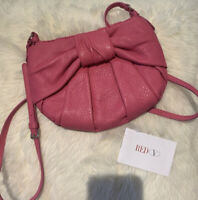 Authentic Red Valentino Coral Pink Bow Bag w Dust Bag & Tags 🎀