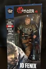McFarlane Toys Gears of War 4: JD Fenix Action Figure With Bonus Gear Pack ~ New