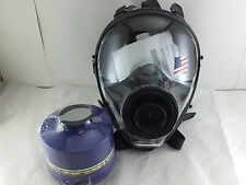 Mestel Safety SGE 400 Gas Mask (made in 2018)  w/40mm NATO NBC Filter -Exp 9/22