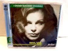 MILVA  -   I GRANDI SUCCESSI FLASHBACK  -  2 CD 2000  NUOVO E SIGILLATO