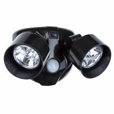 Dual Head LED Wireless Home Security Light Motion Sensor Outdoor Lighting
