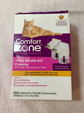 Genuine Comfort Zone Two Room Kit Calming Diffuser For Cats-New open damaged bx-