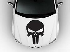 THE PUNISHER Skull Logo Hood Car Decal Race Sports Grpahics Wrap Art Sticker B78