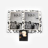 [GOT7]4th mini album-Mad/If you do/Vertical version/Jackson Photocard
