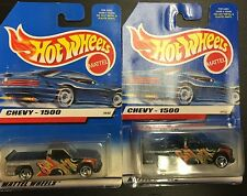 LEO TOYS Hot Wheels CHEVY 1500 ** NEVER SEEN GREEN PAINT ** Mattel INDIA * RARE