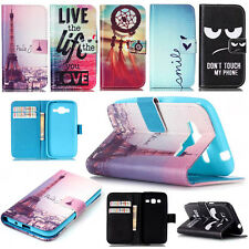 Magnetic Wallet Printed Book PU Leather Card Flip Stand Pretty Lovely Case Cover