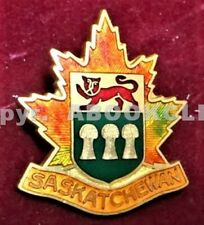 GIRL GUIDES SASKATCHEWAN CANADA HAT Pin Mint