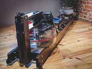 PowerROWER style – Wasserrudergerät mit verstellbarem Widerstand aus Holz