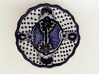 "11.5"" Talavera PLATE PLATTER Hand Painted Ceramic Mexican Pottery Decor HANDMADE"