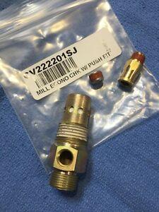 """CV222201SJ Campbell Hausfeld Air Compressor Check Valve 1/2"""" MPT OEM New"""