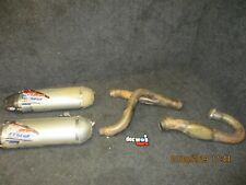 Honda CRF450 2015-2016 Used HGS complete twin exhaust system CR4226
