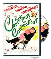 CHRISTMAS IN CONNECTICUT Region 1 DVD Barbara Stanwyck    **NOT UK COMPATIBLE**