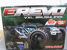 Traxxas E-Revo Brushless 4WD Blue Monster Truck RTR  TQi 2.4GHz TSM TRA860864