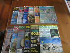 Rock and Gem Magazines 1996 Full Year
