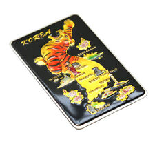 Korea Tiger Map Black Color Fridge Magnet Korean Souvenir Refrigerator Magnets
