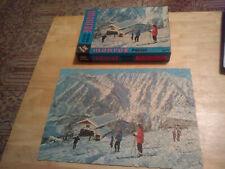 Vintage 300 Piece Puzzle Fairchild #1535 Ski Lift (Monroe Picture Puzzle)