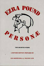 NEW Personae: The Shorter Poems (Revised Edition) by Ezra Pound