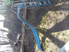 pool slide made fiberglass and aluminum ladder about 7-8 feet high and 12-15 fee