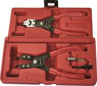 Tool Hub 9681 Mechanics Internal & External Circlip Plier Set Snap Ring Pliers