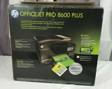 HP OfficeJet Pro 8600 All-In-One Inkjet Printer Tested Great Shape + Ink & Box