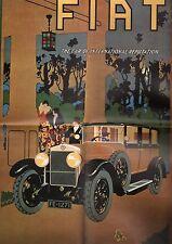 N°6072 / FIAT 519  affichette par Ray Mount   1922
