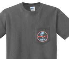 Pocket t-shirt men's Shelby Cobra decal ford mopar muscle car tee for men
