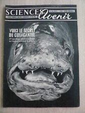 Sciences et Avenir n° 86 Secret du coelacanthe. L'énergie solaire industrielle.