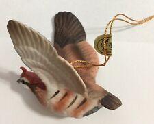 Andrea by Sadek Bobwhite Quail Ornament Bobwhite Quail Figurine #8369 Japan 1989