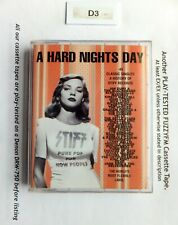 VARIOUS A Hard Nights Day UK DBL CASSETTE/TESTED STIFF MCC 60047 New Wave/Indie