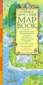 The Once Upon a Time Map Book by Hennessy, Barbara Hardback Book The Fast Free