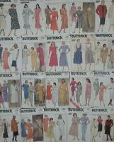 Butterick Vintage Sewing Patterns 80's Dresses Skirts Jackets -U Pick! Lot #6