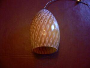 Murano glass Firebird glass for pendant. Tech Lighting