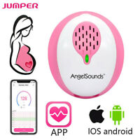 AngelSounds Fetal Doppler Heartbeat Detector Ultrasound Baby Heart Rate Monitor