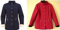 M&S Classic Ruby Pink Quilted Jacket With Stormwear  UK 10 12 14 16  22