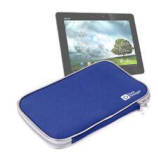 "Blue Tablet Cover For ASUS Transformer Prime In Water Resistant 11"" Neoprene"