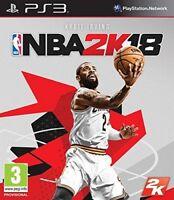 NBA 2K18 ✅✅ Play Station 3 ✅  BEST price on eBay ✅ US SELLER ✅✅
