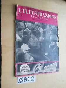 L'ILLUSTRAZIONE ITALIANA N.17 1940 citt… fondazione Duce (42BIS2)