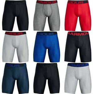 "Under Armour 1327420 Men's Boxer Brief UA Tech 9"" Boxerjock Underwear - 2 Pack"