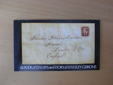 GB - £4 book of stamps and story of Stanley Gibbobs booklet - 1982 MNH