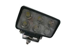 4x 18W 12V LED WORK LIGHT TRUCK TRAILER BOAT OFFROAD FLOOD BEAM LAMP 4WD SUV CAR