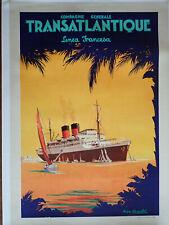 Cie GENERALE TRANSATLANTIQUE-PAQUEBOT COLOMBIE-R.CHAPELET-FRENCH LINE~ANTILLES~