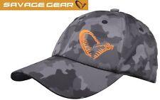 Savage Gear Black Savage Cap, Angelmütze, Angelcap, Basecap zum Spinnfischen