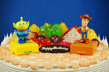 Disney Toy Story Woody Little Green Men Alien Toy Figure Cake Topper K1215 GH
