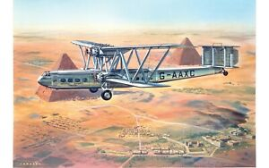 """New Release Airfix 1:144th Scale """"Vintage Classics"""" Handley Page HP42 Model Kit."""