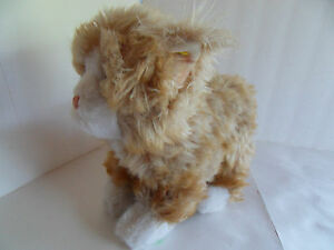 Steiff cat stuffed animal with button made in  Germany  2259