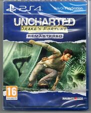 Uncharted: Drakes Fortune  REMASTERED  'New & Sealed'  *PS4(Four)*